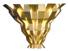 Origami Sconce (=)