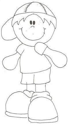 Felt Crafts, Paper Crafts, Baby Pants Pattern, Quiet Book Templates, Children Sketch, Quilting Stencils, Art Corner, Happy Summer, Doodle Drawings