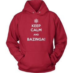 The Big Bang Theory T Shirt - Keep Calm And Bazinga - TV & Movies