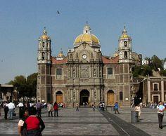 Antigua Basilica de Guadalupe In Mexico City