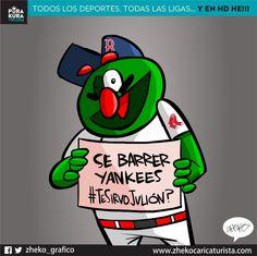 "#ElCartonDelDia ""YO SE BARRER YANQUIS #TeSirvoJulion ? "" @Yankees @RedSox en VIVO y HD: www.purakuravip.com"
