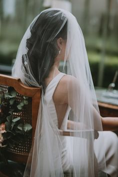 bridal veils wedding veils Enzoani wedding dress embellished wedding veil hollywood waves bridal hair wearing your hair down wedding Wedding Veils, Bridal Veils, Bridal Hair, Wedding Shawl, Boho Wedding, Hollywood Waves, Outdoor Wedding Photography, Navy Bridesmaid Dresses, Alternative Wedding Dresses