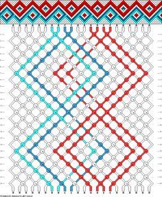 22 strings, 24 rows, 5 colors