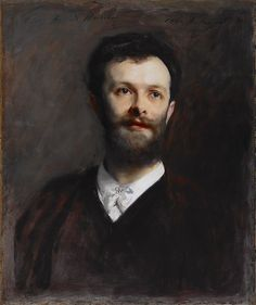 George Henschel, Artist: John Singer Sargent (American, Florence 1856–1925 London) Date: 1889 Culture: American Medium: Oil on canvas.
