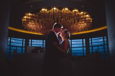 A 1920s Art Deco Inspired Wedding At The Midland Hotel In Morecambe...Dress designed and styled by The State of Grace