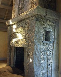 Absolutely magnificent!  Wonderful stone fireplace. Lew French Stone fireplaces.