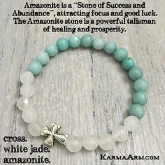 White Jade is a calming, grounding stone that also protects the wearer from negative energies. It brings peace, harmony and luck. White Jade is also wonderful in the decision-making process, as it blocks distractions, allowing for the best results to reveal themselves #love #charm #yoga #mala #womens #mens #bracelets #sexy #cool #bracelet #chakra #goals #happiness #bead #tibetan #beads# #mantra #healing #zen #meditate #karma #style #prayer #spiritual #meditation #friendship #lucky #buddhist…