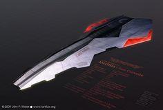 Xegity: Amathia Class Corvette by *IonfluxDA on deviantART