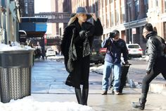 #SooJoo whassupppp? that hat rocks. as do you. #offduty @ #NYFW