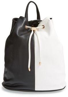 Deux Lux 'Mod' Colorblock Faux Leather Backpack on shopstyle.com