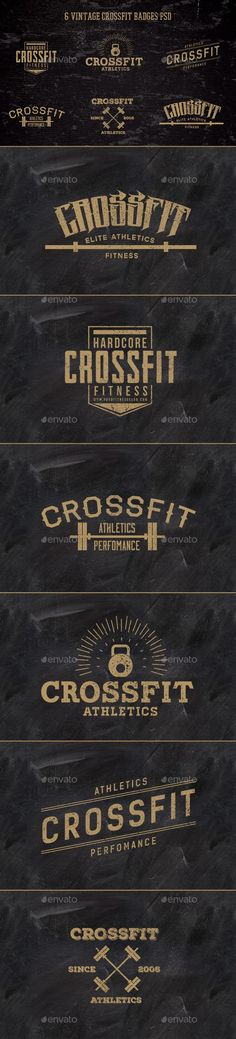 Trendy Ideas For Fitness Logo Ideas Typography Crossfit Logo, Crossfit Shirts, Gym Logo, Fitness Logo, Fitness Shirts, Sports Logo, Graphic Design Inspiration, Logo Branding, Logo Design