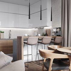 Дизайн загородного дома в теплых тонах ☕️ от студии @ard.design #interiors #interiordesign #interior #designer #дизайн #дизайнпроект #дизайнинтерьера