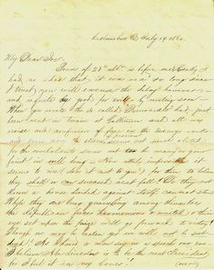 Speaks of death... 1860 Letter - Columbus, Ohio, Howe, Lincoln, Train Disaster, Death, Secession