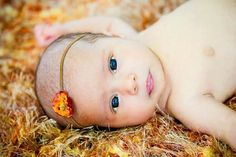 I could get lost in her eyes.... (honored to have made this Photography Prop Baby Blanket that this amazing little girl is laying on) by BabyBirdz