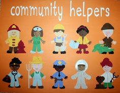 Designs by Lesleyanne -- LA's Cricut: Community Helpers Poster
