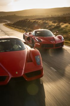 Ferrari Enzo vs LaFerrari on Behance