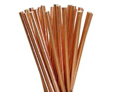 Rose Gold Straws Copper Party Decor Bachelorette Party Rose