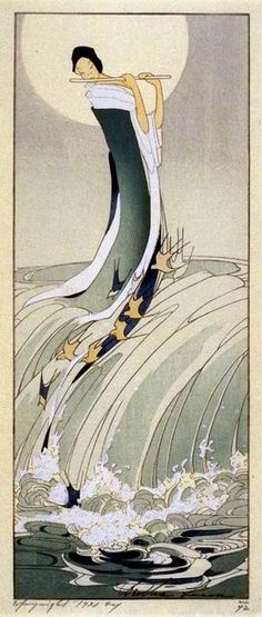 UNDER THE ROOT: Bertha Lum woodblocks of the early 1900s