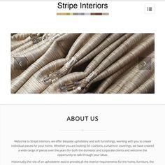 #website love the new scrolling site #stripeinteriors