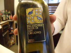 Falanghina vino, my favorite.