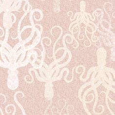 A Neutral Octopus fabric by seesawboomerang on Spoonflower - custom fabric