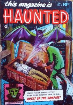Comic Book Cover For This Magazine Is Haunted v1 #3