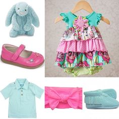 Spring fashion is rolling in for boys and girls! Grab one of these cute items for you baby today!