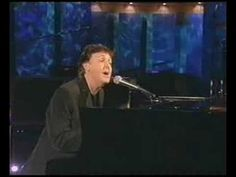 The Long And Winding Road by Paul McCartney  -- Always beautiful, for music is poetry, and poetry is music.