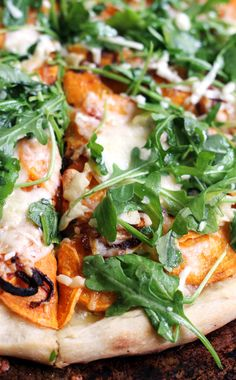 Roasted Sweet Potato and Caramelized Onion Pizza