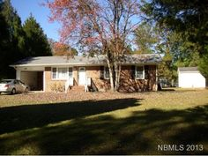 1800 Lee Landing: New Paint. Brick ranch. 3 Bedrooms, 1.5 Baths. 2010 new HVAC & shingles. Windows in 2001. Large eat in kitchen with all appliances convey. Freezer, washer, dryer and generator convey. Established fenced garden & fencing in rear yard, shed, single garage. Boat Ramp 1 mile down the road.