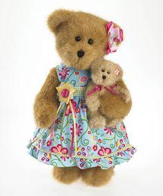 Another great find on #zulily! Flora & Li'l Bell Luvinbloom Plush Bear #zulilyfinds