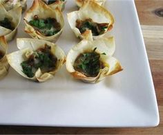 French Onion Tartlets