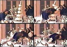 """Guns N' Roses shot the video for their song """"November Rain"""" in the Villa in 1992 November Rain, Guns N Roses, Christmas Tree, Holiday Decor, Painting, High School, Villa, Thanksgiving, Art"""
