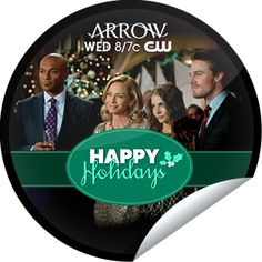 Deck the halls with bows of Ollie! Happy Holidays from Arrow on CWTV.com! Share this one proudly. It's from our friends at The CW.