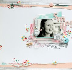 All That Scrap: inspired by the white!