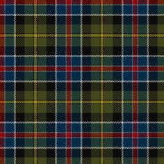Culloden 1746 Tartan from the Scottish Register of Tartans.