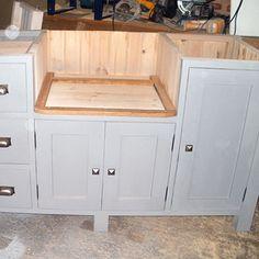 Kitchen furniture by Black Barn Crafts, Kings Lynn, Norfolk Wooden Furniture, Kitchen Furniture, Barn Crafts, Black Barn, Storage, Design, Home Decor, Timber Furniture, Purse Storage