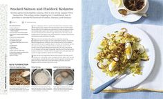 Mary Berry Cooks The Perfect Smoked Salmon & Haddock Kedgeree - Mary Berry - Dorling Kindersley Paul Hollywood And Mary Berry, Mary Berry Cooks, My Favorite Food, Favorite Recipes, Crispy Onions, Most Delicious Recipe, Smoked Salmon, Yum Yum, Berries