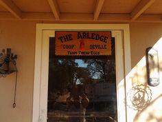 Personalized chicken coop sign - Coop Deville, chicken coop from Valley Springs, California - Queen Bee Coupons & Savings