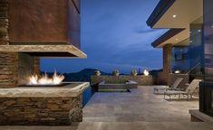 Дом в Скотсдейле, штат Аризона, США.