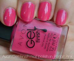 Avon Gel Finish nail polish in Parfait Pink via @beautybymissl