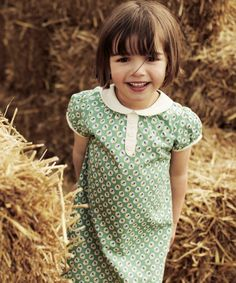 Spring/Summer 2014. Pretty and comfortable, this dress is perfect for any occasion. #ChildrensFashion #Kids #Dress