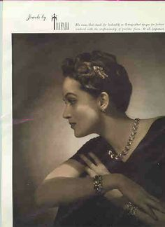 Jewels by Trifari vintage ad