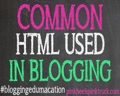 Confused about HTML? Let me show you some of the Common HTML used in blogging & explain what it does! #bloggingedumacation Teaching Kids To Code, Learning To Be, Wordpress, Blogger Tips, Blog Writing, Social Media Tips, Business Tips, Lifestyle Blog, The Help