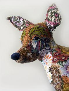 FOX by Pretty Scruffy - Textile Animals