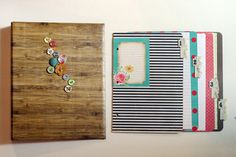 This one uses contact paper and Crate Paper Paper Binder, Binder Tabs, Binder Dividers, Ring Binder, Mini Albums, Cute Crafts, Diy Crafts, Homemade Recipe Books, Paper Art