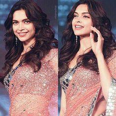 Deepika@in glitter Saree