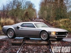Ford's supercar has been reinvented. Taking style cues from a Ford GT40 race car, this 1969 Ford Mustang is hard to miss. Check it out on HotRod.com or in May 2013 issue of Hot Rod Magazine.