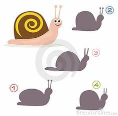 shape-game-snail