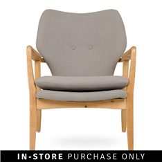 For a mid-century modern look add a retro chair or two to your living room. Their retro shape and classic wood and linen looks fit perfectly with a large retro style coffee table or a more modern style too. Claremont House, Benches For Sale, Home Furniture, Outdoor Furniture, Buy Chair, Outdoor Chairs, Outdoor Decor, Chair Bench, Home Bedroom